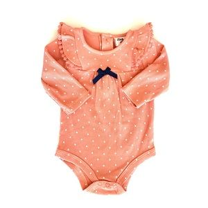 3/$25 Little Lass Lady Baby Girl Ruffle Onesie